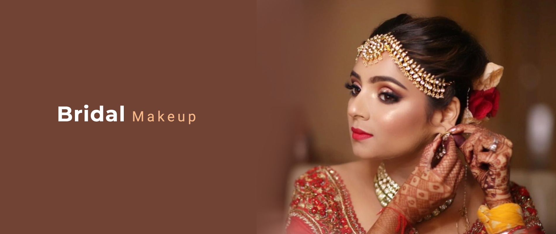 Indian Bridal Makeup Brampton, Canada